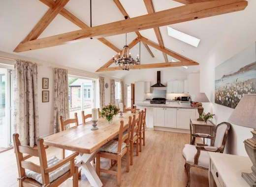 Stunning Open Plan Living at Langford Valley Barn