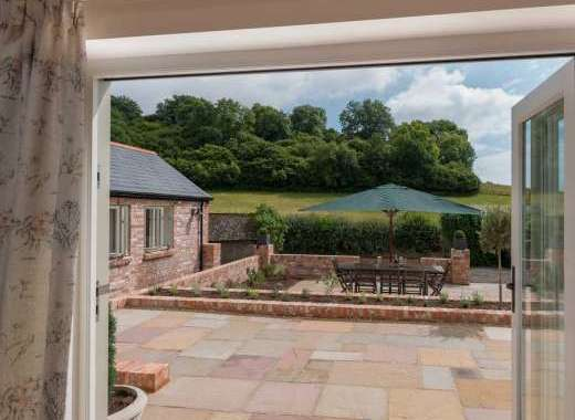 Fantastic countryside views at Langford Valley Barn in Dorset