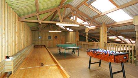 Malston Mill's Large games room