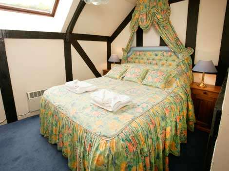 Double bedroom at Mill Cottage