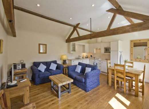 Stylish Open Plan Living area at Trinity Cottage