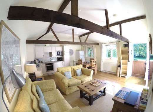 Waterperry Cottage Open Plan Living Area
