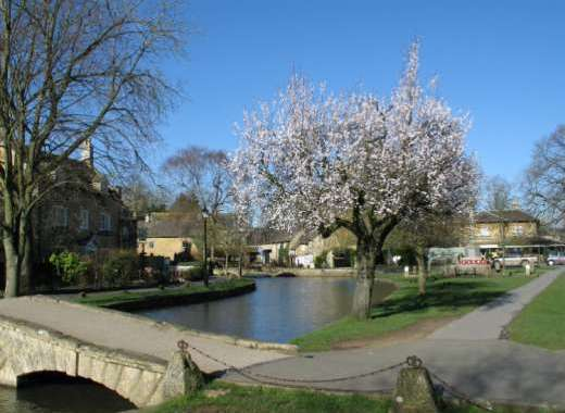 Bourton on the Water in Spring