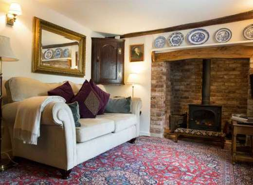 Cottage for two in Kersey Suffolk