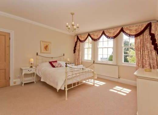 Master bedroom family suite at Ludlow Manor House