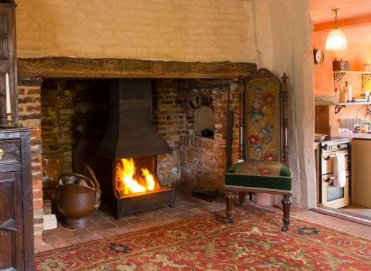A beautiful Inglenook Fireplace