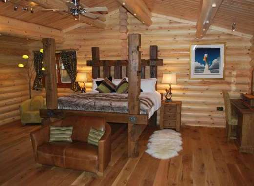 Cherry Lodge Bedroom