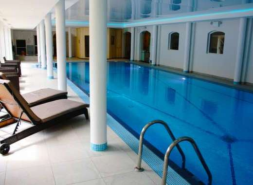 Relax in our newly refurbished Leisure Centre