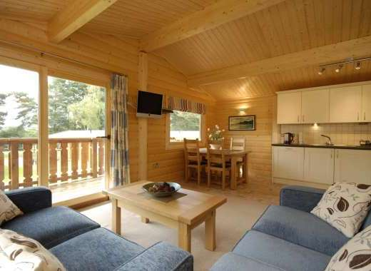 A holiday at these self-catering lodges can combine, golf, relaxation and sightseeing