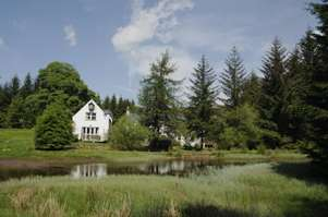 Self-catering secluded country cottage in Scotland