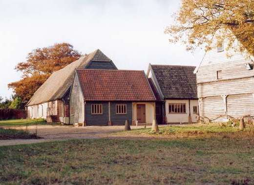 Grade II listed selfcatering barn