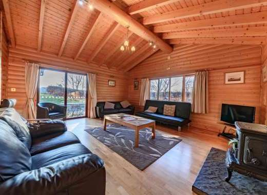 Stunning self-catering log cabins in Yorkshire