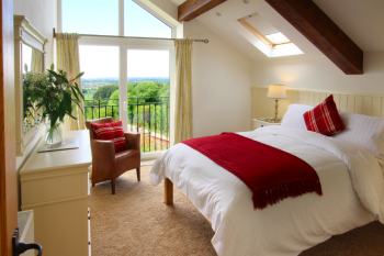 Beautiful bedrooms with panoramic views