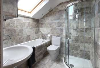 cottage north england with En suite facilities to all 4 bedrooms