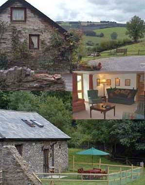 self-catering cottage near Exmoor, Somerset