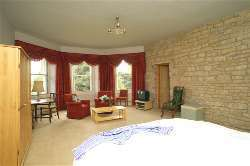 Very spacious bedrooms at Cholwell Hall