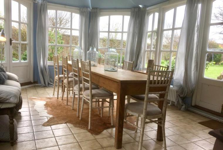 Conservatory ideal for eating in