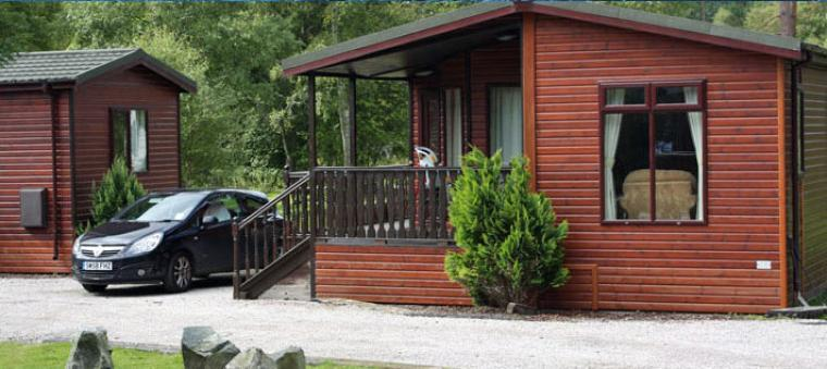 Royal Deeside pine lodges