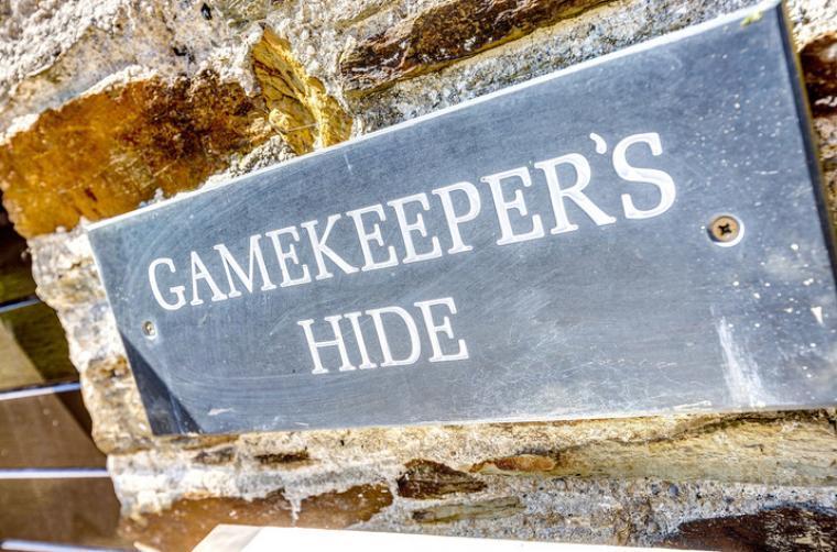 Gamekeeper's Hide on the Colmer Estate, Somerset, Photo 44
