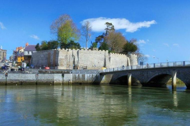 Cardigan Castle is fully restored.