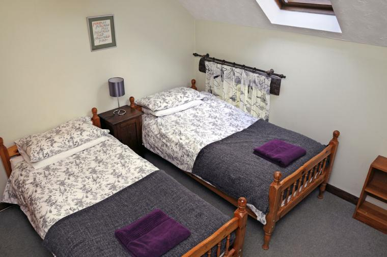 Twin bedroom, Verger's End