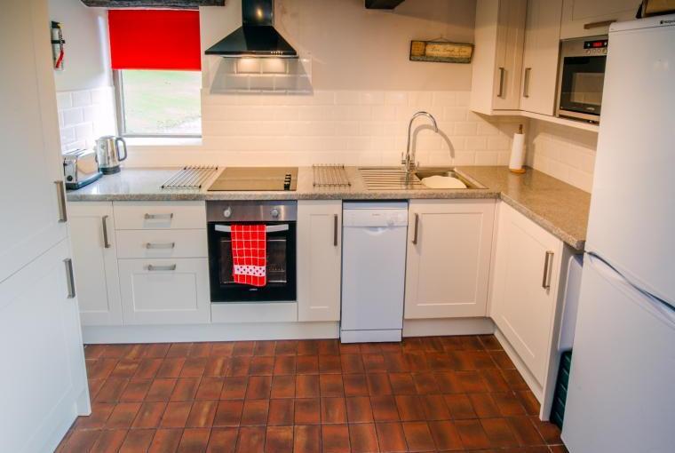Verger's End kitchen