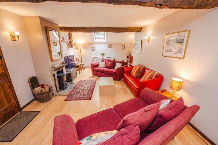 Prince's Seat living room