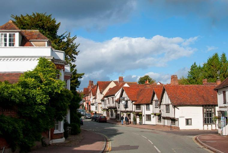 Lavenham: The best preserved medieval village in England