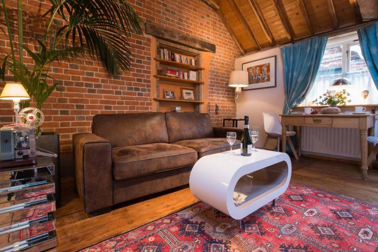 Cosy cottage for 2 in Suffolk with style