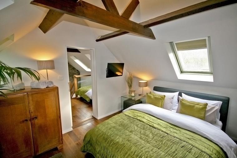 Main Bedroom with HD Smart Tvs