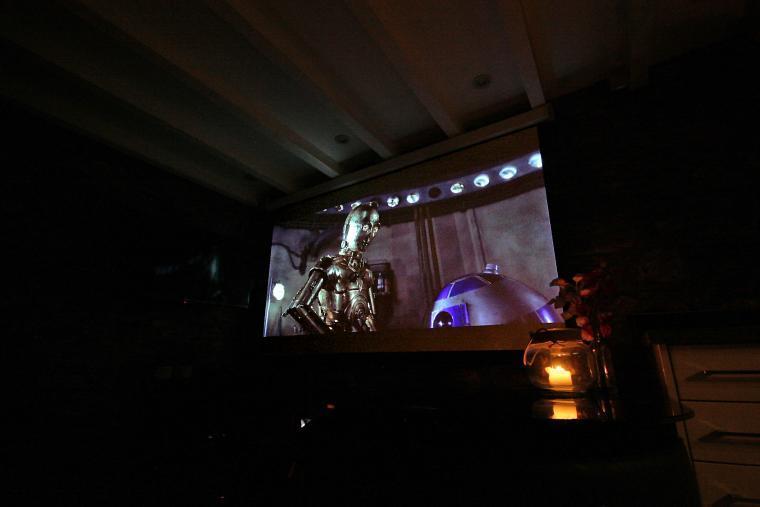 3D Home Cinema with Surround Sound