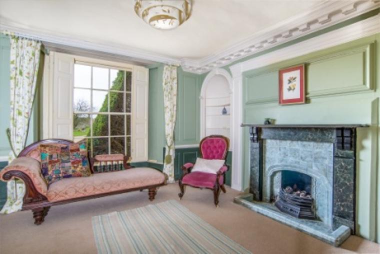 The Georgian lounge
