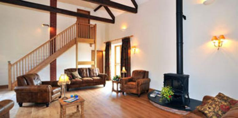 self catering for large groups in Somerset