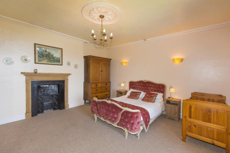 The Family bedroom has a double bed and two single beds