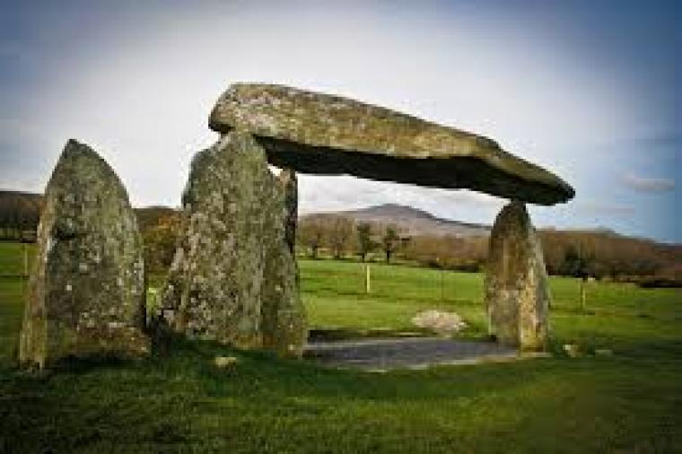 Pentre Ifan the prehistoric burial chamber at Brynberian