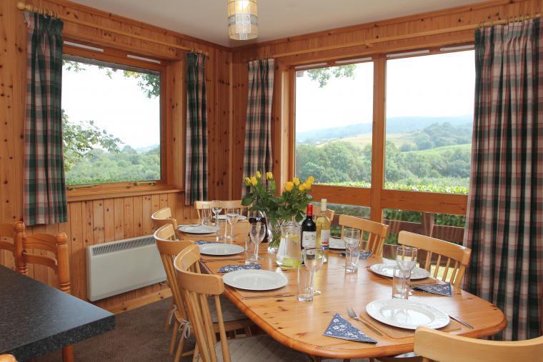 self catering views over Exmoor