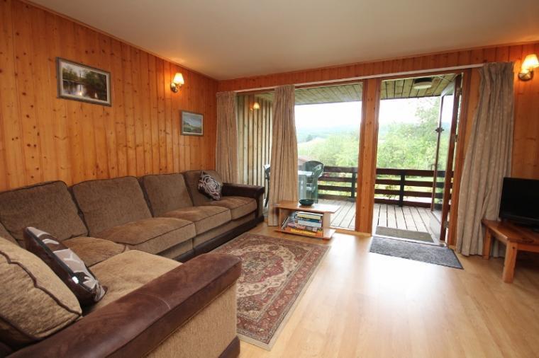 Holiday Lodge verandas