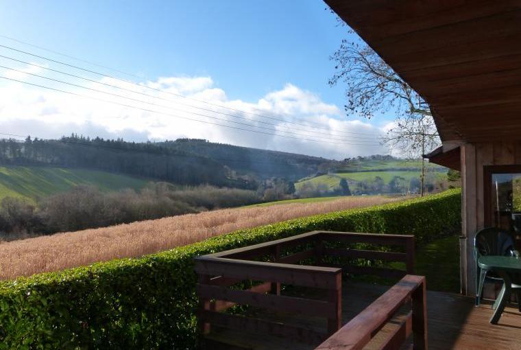 Self catering Exmoor views