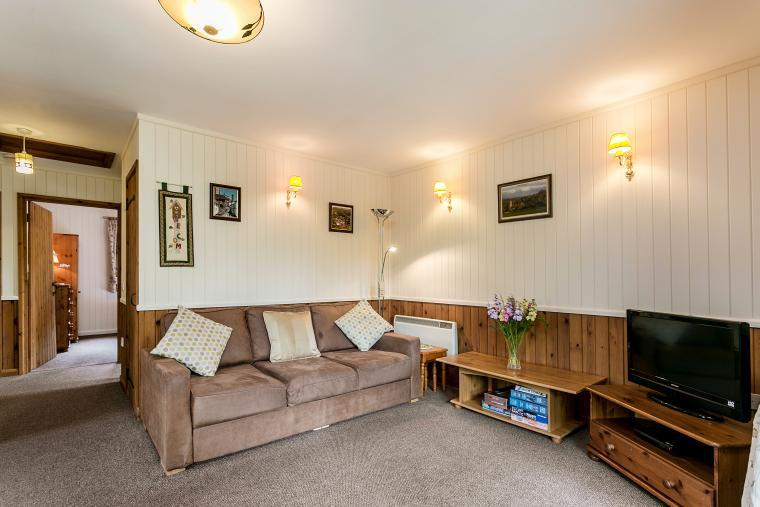 Self catering holiday lodge