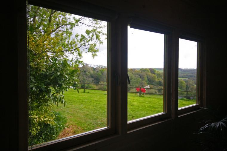 Views Across Fields and Stables