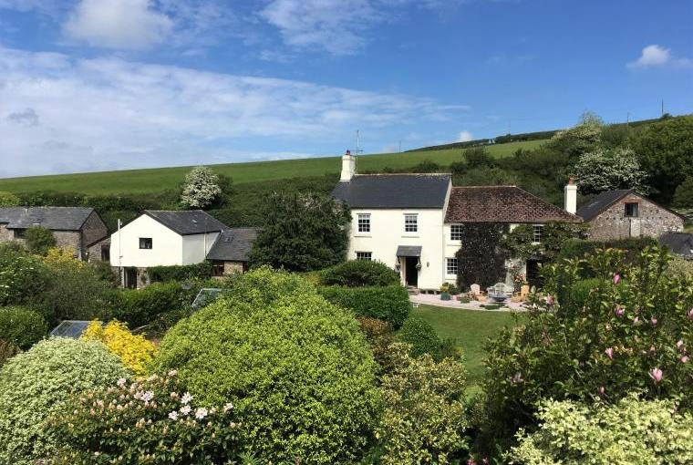 Dittiscombe Hills Estate, Farmhouse and Cottages in South Devon