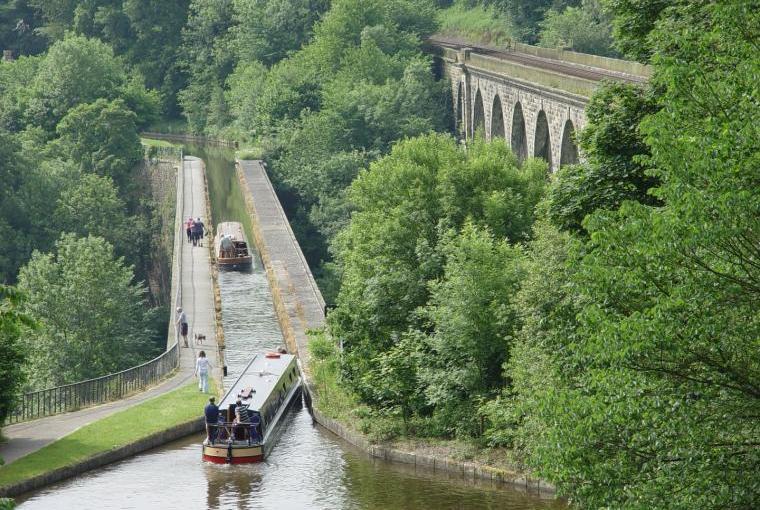 Chirk Aqueduct 1/2 hr drive away
