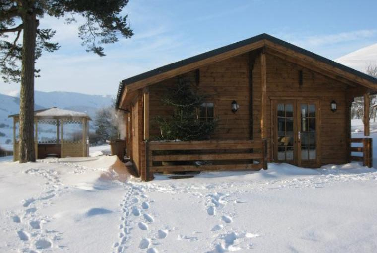 Caban Berwyn in winter