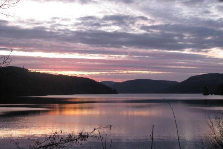 Lake Vyrnwy 1/2 hr drive away
