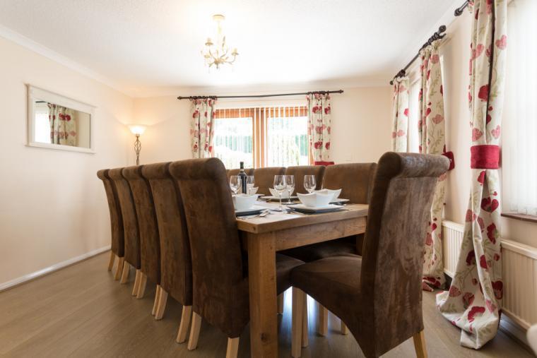 Dining Room seats 12