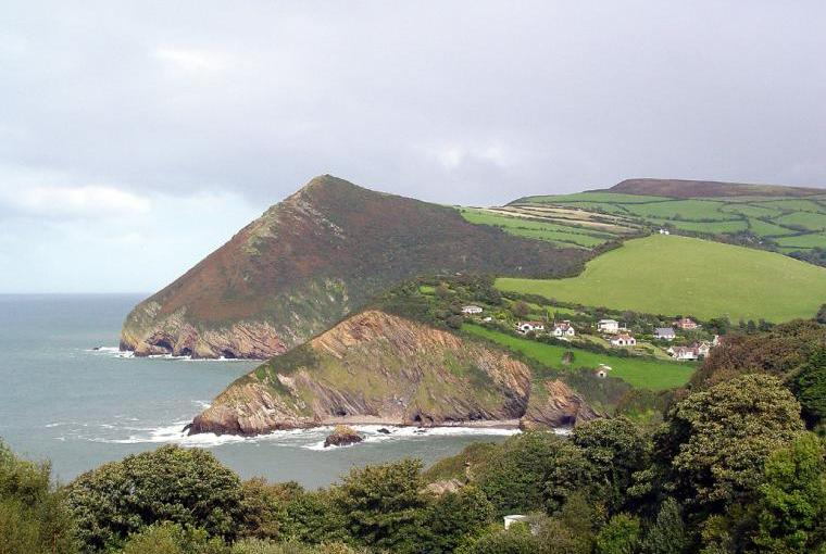 Combe Martin Bay and Exmoor coast
