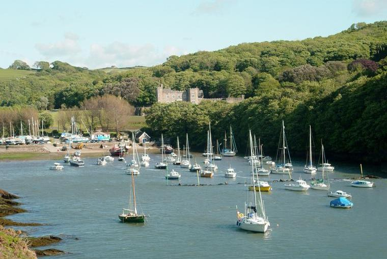 Beautiful Watermouth Cove and Castle
