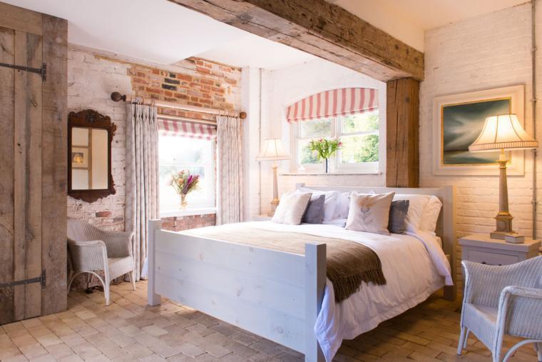 Romantic bedroom, Lovejoys Mill, Essex