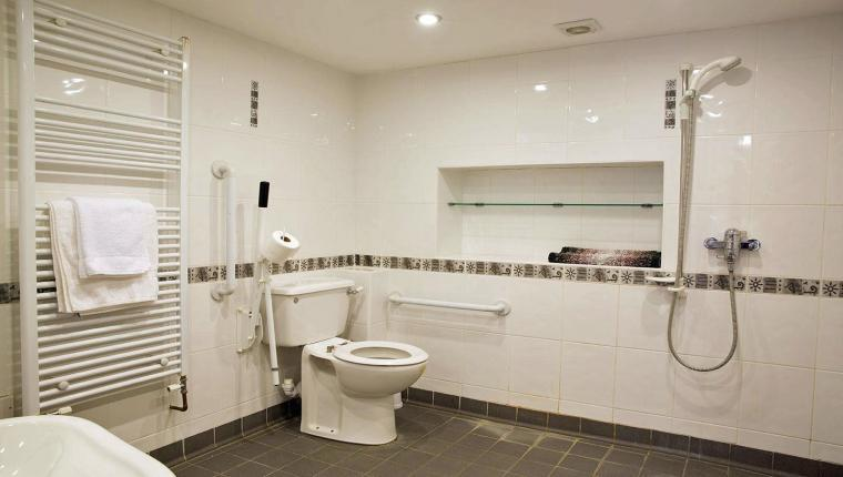 Bathroom suitable for disabled yorkshire