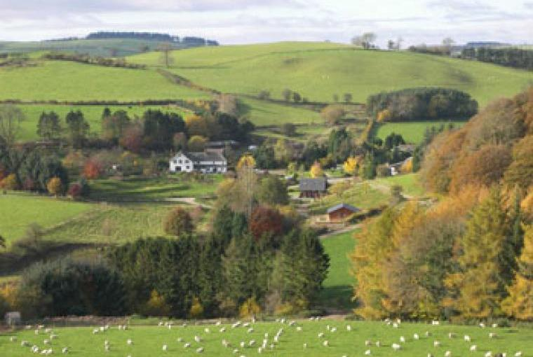 private lodges in Wales